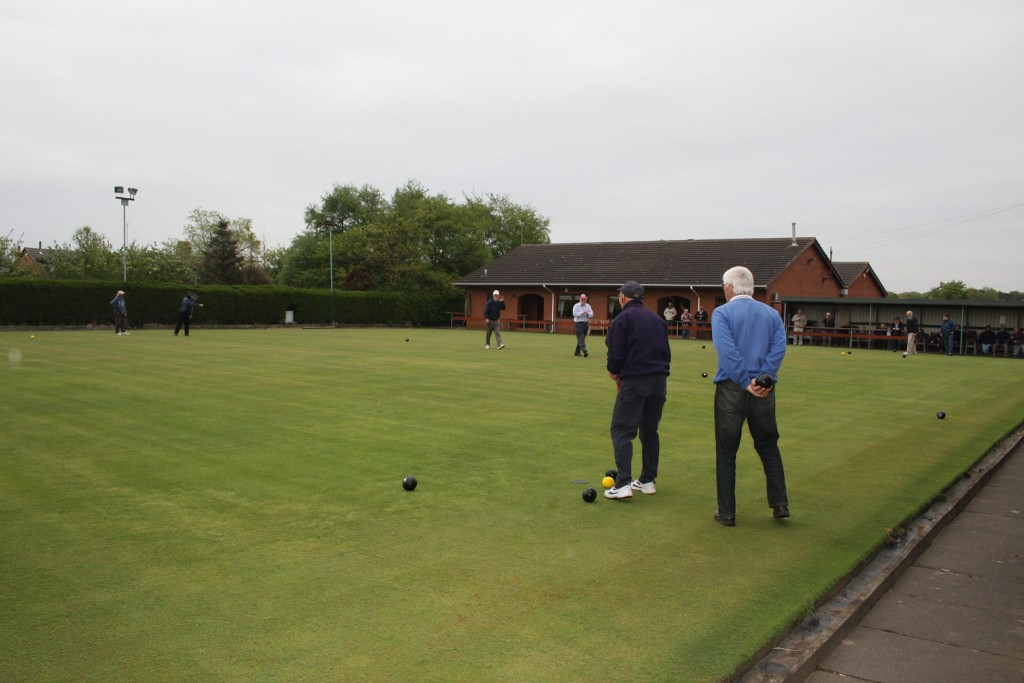 Crown green bowling at SNSC.